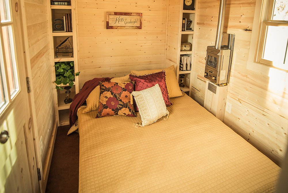 tiny house bedroom.  Tumbleweed Tiny House Sleeping Spaces Photo Gallery Houses