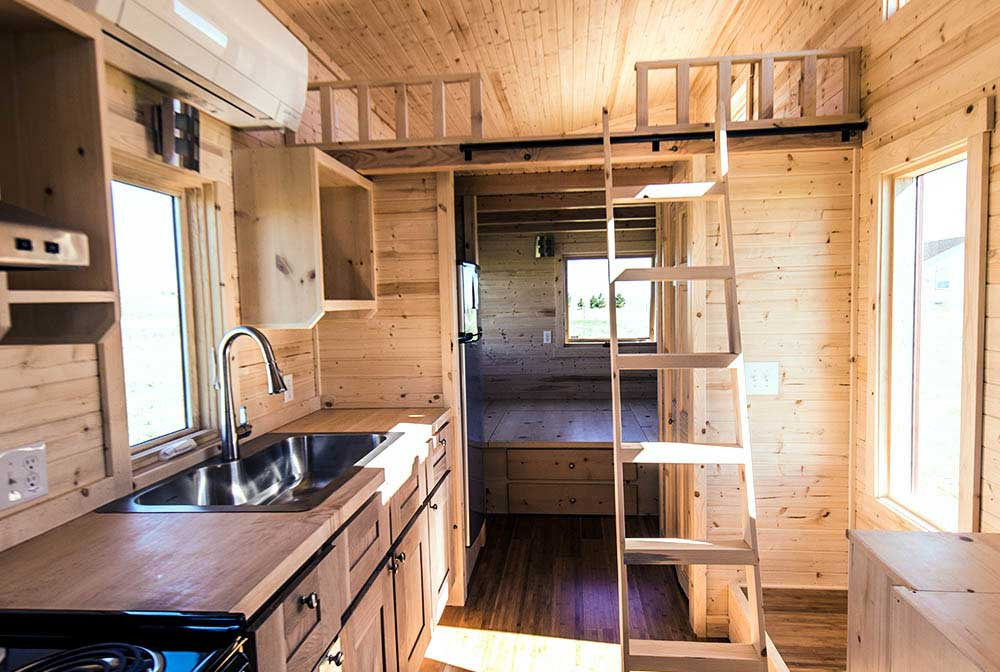 tumbleweed tiny house roanoke - Tumbleweed Tiny House Interior