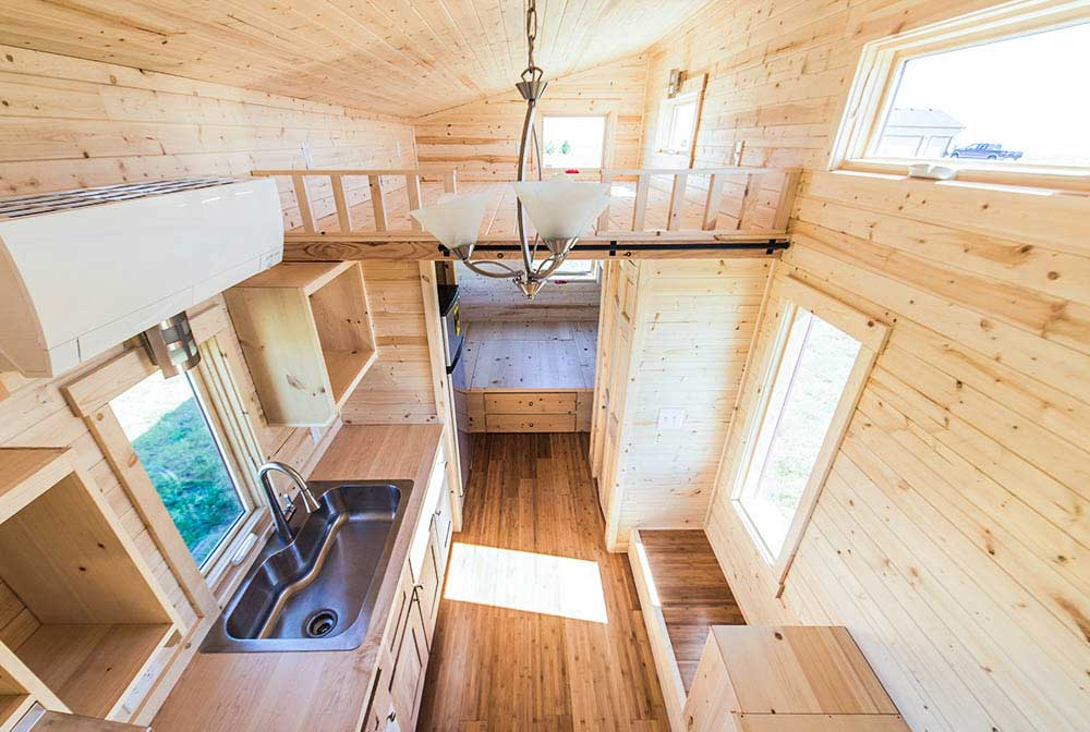 Tiny house rv design interview with designer laura schmitz - Tumbleweed tiny house interior ...