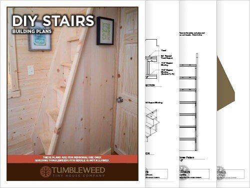 Tumbleweed Tiny House Stair Plans