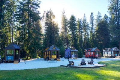 Tumbleweed Tiny House Village in Leavenworth