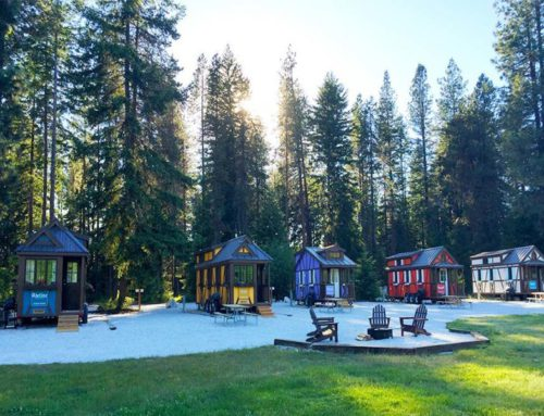 Visit Leavenworth, WA and stay Tiny this winter