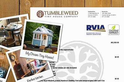 Tumbleweed Tiny Houses Design Yours