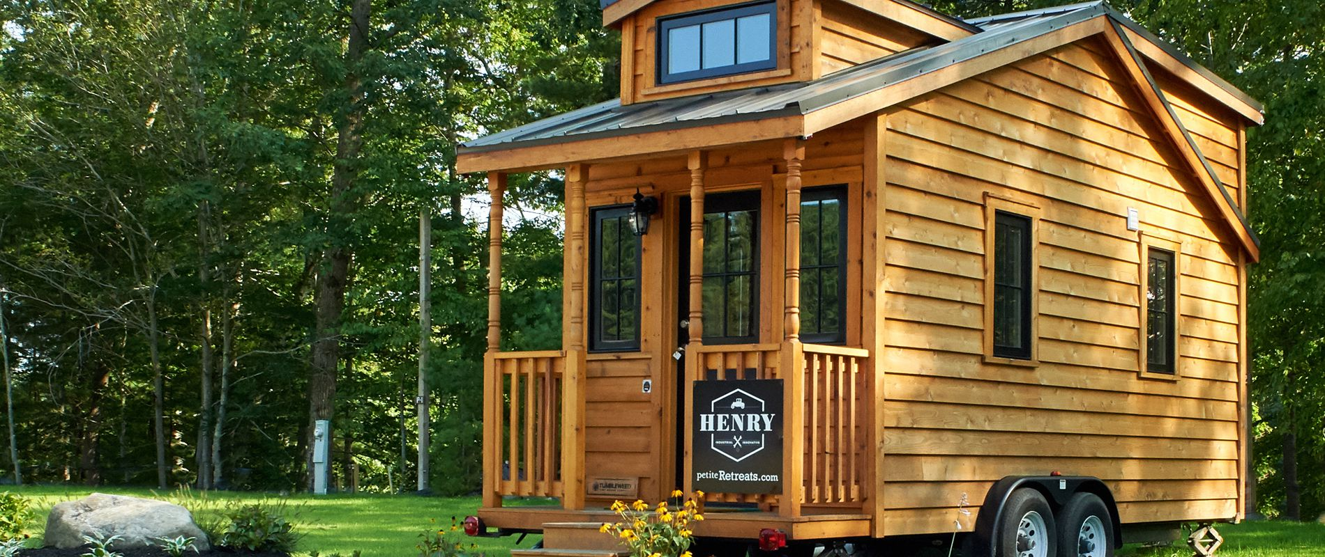Tuxbury Tiny House Village Henry